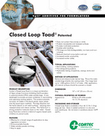 Closed Loop Toad Product Data Sheet