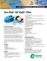 Cor-Pak Extruded Film Roll Product Data Sheet