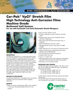 Cor-Pak VpCI-Stretch Film Product Data Sheet