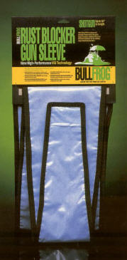 "Bull Frog Gun Sleeve 12"" Handgun corrosion, rust, corrosion inhibitor, corrosion control, rust inhibitor, rust remover, rust control, cortec, vpci, ecorr, corrosion protection, VCI-BF-35390181-12, bull frog firearm case, firearm case, gun case, rust blocker, bull frog gun case"